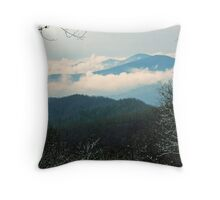 CLEARING WINTER STORM Throw Pillow