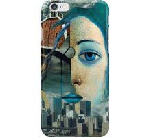 Saline Solution ( Collaboration with Andy Nawroski ) iPhone Case/Skin
