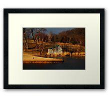 The Caddy Shack Framed Print