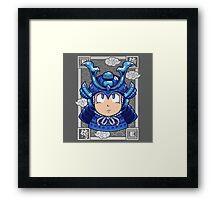 Shogun Man Framed Print