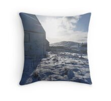 kirk in ice Throw Pillow