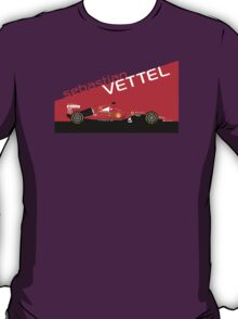 2015 Formula 1 Scuderia Ferrari SF15-T Sebastian Vettel T-Shirt