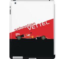 2015 Formula 1 Scuderia Ferrari SF15-T Sebastian Vettel iPad Case/Skin