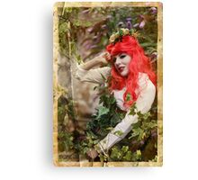 Dieselpunk Poison Ivy Secret Garden Canvas Print