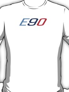 BMW E90 in M colors T-Shirt