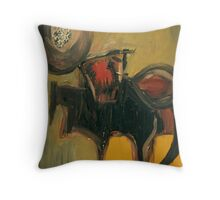 the horse you rode in on Throw Pillow