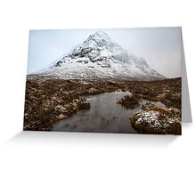 Buchaille Etive Mor Greeting Card