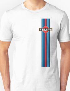 Formula 1 Felipe Massa Martini Racing stripe T-Shirt