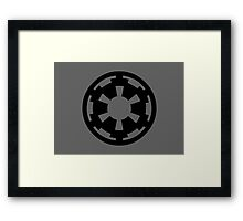 Imperial Wheel Framed Print