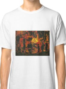 Drum and Dance Circle  Classic T-Shirt