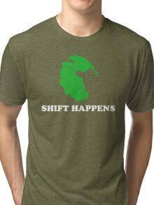 Pangea- Shift Happens Tri-blend T-Shirt