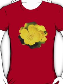 Yellow Primrose Flowers T-Shirt