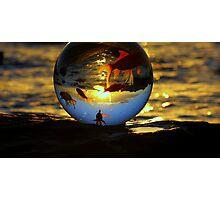 """ The World according to Goldfish "" Photographic Print"