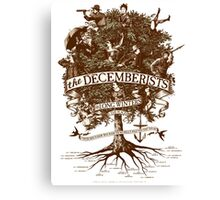 The Decemberists Canvas Print
