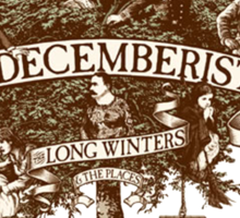 The Decemberists Sticker