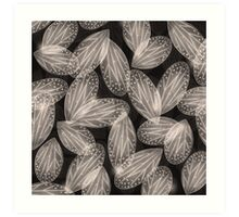 Fallen Fairy Wings - Silver Screen Edition Art Print