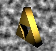 Sealed Triforce by Dualdragoon