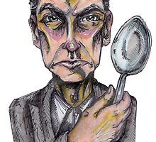 Twelve and His Spoon by hanbohobbit