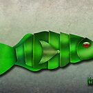 The Metal Aquarium  Parrot Fish by KOKOPEDAL