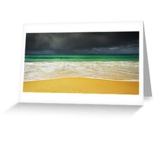 Sand and Storm, Bruny Island, Tasmania Greeting Card