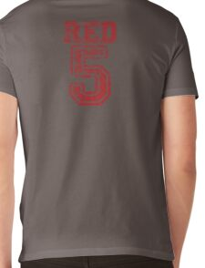 Red 5 Mens V-Neck T-Shirt