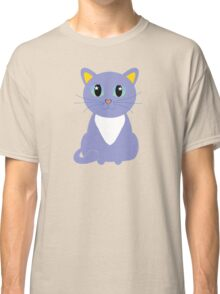 Only Lonely and Blue Cat Classic T-Shirt