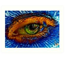 The Eye of the Dragon  Art Print