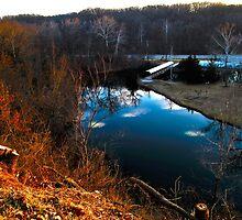 Sunset Lake by ShawnScheiter
