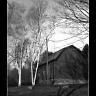 Conneticut Barn I (B&W 2) by carlina999