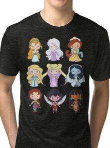 Lil' CutiEs - Alternate Princesses Group One Tri-blend T-Shirt