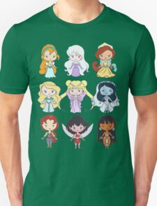 Lil' CutiEs - Alternate Princesses Group One Unisex T-Shirt