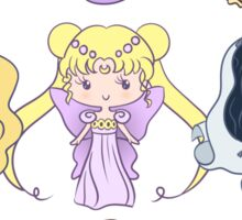 Lil' CutiEs - Alternate Princesses Group One Sticker