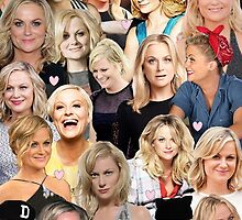 Amy Poehler Collage by unoriginalamy