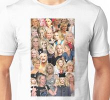 Amy Poehler Collage Unisex T-Shirt