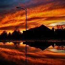 The Neighborhood Ablaze by Evan Ludes
