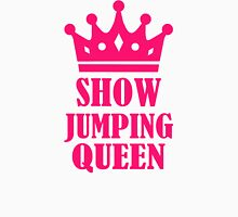 Show jumping queen Womens Fitted T-Shirt