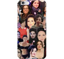 Lana Parrilla collage iPhone Case/Skin