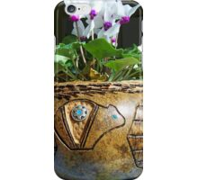 Pine needle and gourd basket iPhone Case/Skin