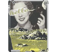 Are You There? iPad Case/Skin