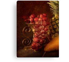 Emperor Grapes Canvas Print
