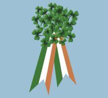 T-Shirt: Ribbon and Shamrock for Saint Patrick's Day Kids Clothes