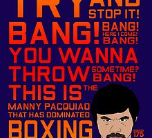 Manny Pacquiao - Bang Bang by liam175
