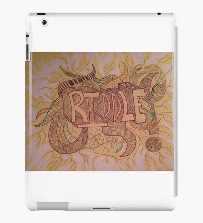 The Paradox of a Riddle  iPad Case/Skin
