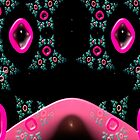 ©DA FS The Fractal Cats Of Pink Eyes V1FX. by OmarHernandez