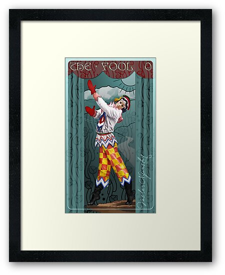 Tarot: The Fool (0) by Ivy Izzard