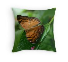 The Brown soldier Throw Pillow