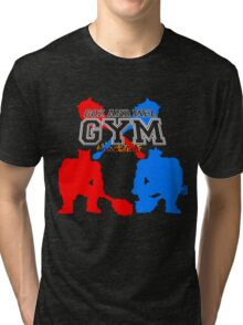 Goz and Mez Gym Tri-blend T-Shirt