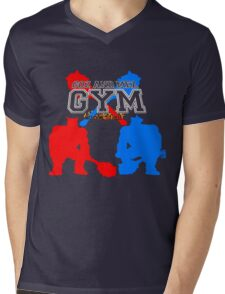 Goz and Mez Gym Mens V-Neck T-Shirt