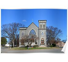 Saint Mary's Star of the Sea Catholic Church Poster