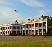 Stately Living Quarters at Fort Monroe by lookherelucy